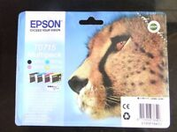 Epson stylus multi pack ink cartridges Half price brand new unopened!