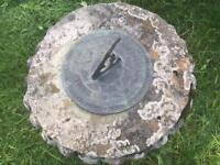 Vintage sundial