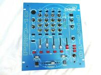 D.J. CITRONIC MIXER PRO-10 5 CHANNELS FOR DECKS & MICS + MASTER AND ALSO MIC OVERIDE
