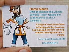 Cleaners available for work