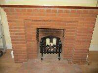 Mini bricks from dismantled fireplace.