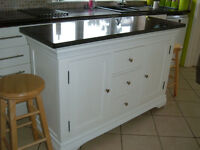 Bespoke Kitchen Island.