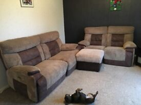 Nearly new electric recliner sofa! Only 12 months old, tags still on!