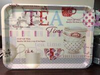 Brand New Tea Tray