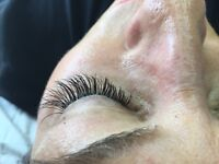 Eyelash Extensions - Individual - One on One lashes