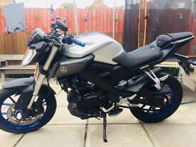 Yamaha MT125 £2000