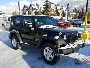 2012 Jeep Wrangler Sport Standard Hardtop A/C *Canmore Chrysler