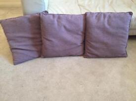 Lilac cushions