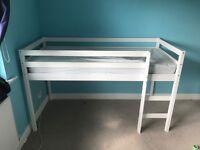 argos mid sleeper shorty bed with mattress
