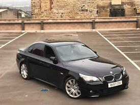 2007 57 BMW 535D M SPORT AUTO + XENONS + COMFORT SEATS + SAT NAV + SPYDERS NOT 530D
