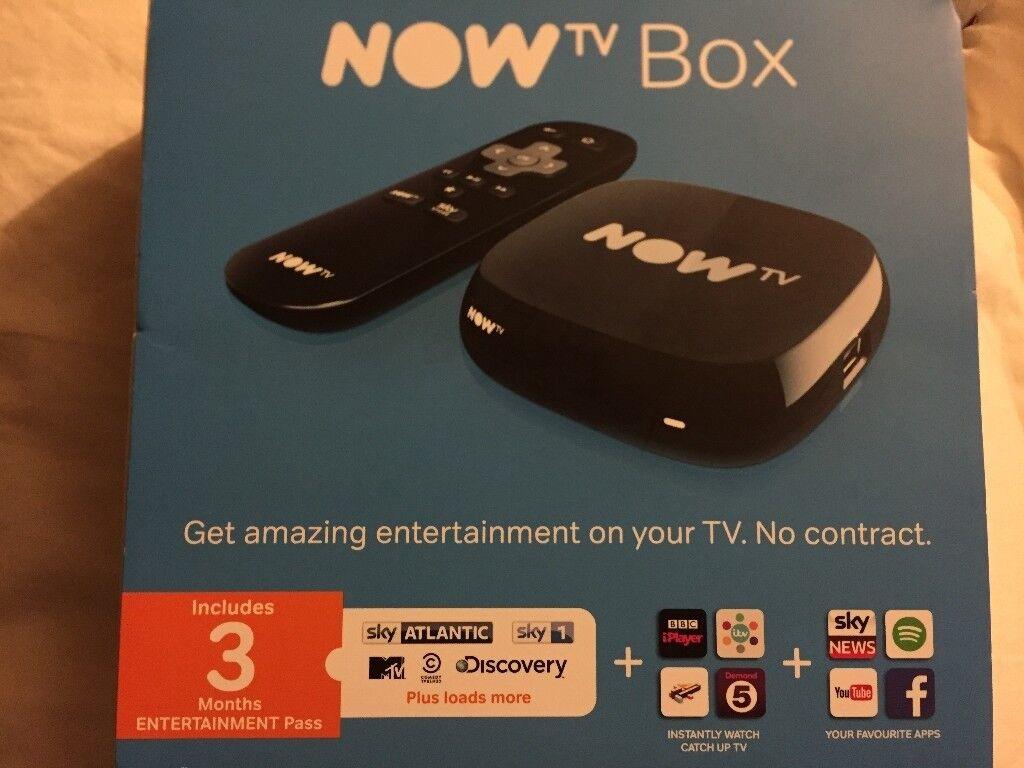 BRAND NEW Now TV Box - HD Digital Media Streamer iPlayer All4 itv player  etc | in Bournemouth, Dorset | Gumtree