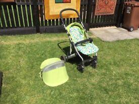 Mama and Papas Luna mix push chair