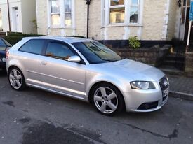 Audi A3 tdi Quattro s line fully loaded Bose navi heated seats