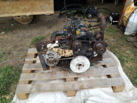Kubota d950 diesel engine for narrowboat boat tractor or mini digger marinised