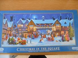 Two lovely jigsaws: Christmas in the Square & Ginger in Floral