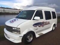 Chevrolet astro mpv camper. Day van. Surfer automatic.