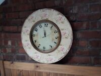 Large Feature Wall Clock