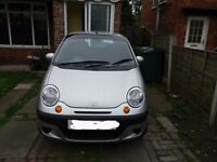 Daewoo Matiz 2004 Plate, Excellent Condition, low mileage, £800 O.N.O