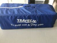 Comfi Travelcot and playpen