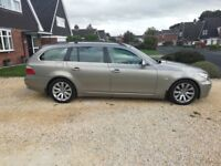 BMW 5 series touring se, low miles, Sat nav, automatic, massive spec car.