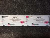 Bon Iver Tickets x2 - Blackpool Opera House - Sept 25th - CIRCLE