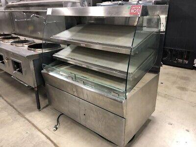 Amtekco Self Service Heated Display Case Floor Model Hot Food Electric