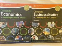 Oxford IGCSE Textbooks - Business Studies and Economics