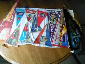Selection of Traditional World Wide / Country / City Pennants