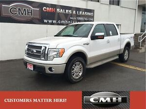 2010 Ford F-150 KING RANCH 4X4 CREW NICELY EQUIPPED *CERTIFIED*