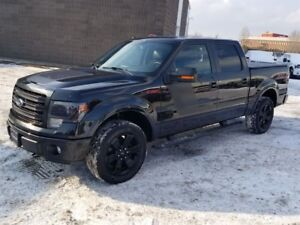 2014 Ford F-150 FX4, leather, sport package