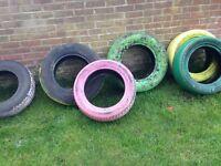 6 tires