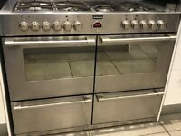 STOVES DUAL FUEL RANGE COOKER 110 cm - STAINLESS STEEL