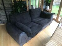 Giant sofa. Very comfy, but insanely large