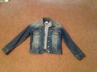 Tommy Hilfiger denim jacket. Size small