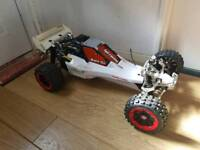 Hpi Baja 5b. Zenoah 29cc. Loads Of Integy Alloy. TR. Upgraded. 1-5 Scale Petrol RC Car Buggy