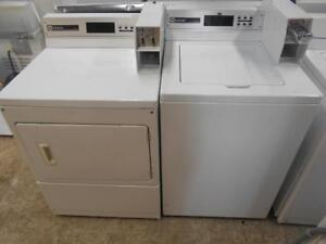 SET COMMERCIAL WASHER & DRYER / ENSEMBLE LAVEUSE & SECHEUSE COMMERCIAL