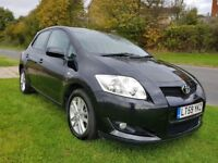 Toyota Auris 1.6 TR Automatic 5 Door. Very Low Mileage, Dealer History, New MOT & Hpi Clear