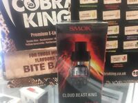 SMOK TFV12 Cloud Beast King Tank - Black - Brand New