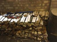Split Fire wood logs