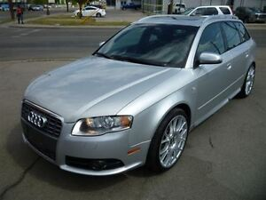 2007 Audi S4 4.2 Avant LEATHER/SUNROOF/NAVIGATION