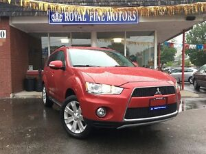 2012 Mitsubishi Outlander GT,Leather,AWD,Sunroof,Camera,EcoMode,