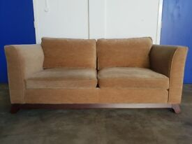 LUXURY DESIGNER MEADOWMEAD LTD. FABRIC 3 SEATER SOFA / SETTEE DELIVERY AVAILABLE