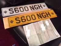For sale is the S600NGH – SINGH – SIKH - Private Number Plate on Retention
