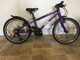 Frog 52 kids bike As New!