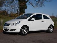 VAUXHALL CORSA 2010 ENERGY 1.2 LOW MILEAGE 55,000 ONLY EXCELLENT CONDITION 12 MONTH M.O.T PETROL