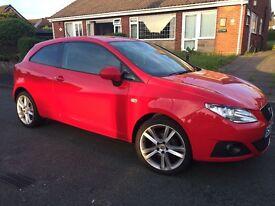 Seat Ibiza 1.4S 3 door for sale; 2010