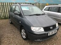 Hyundia Matrix 1.6 Gsi *only 81,000 miles*