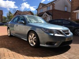 2008/58 SAAB 9-3 1.9 TTID AERO (180) AUTOMATIC, STUNNING CONDITION, VERY LOW MILES, FSH, SATNAV ETC