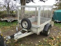INDESPENSION 6-6 X 4-6 (1300KG BRAKED) GOODS TRAILER WITH FULL MESH KIT......