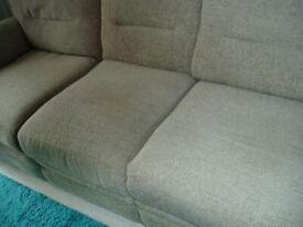 3 seater recliner sofa .